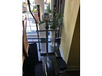 Air walker / cross trainer - fitness gym machine