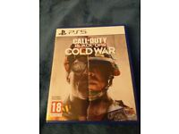 Playstaion 5 Call of Duty Cold War
