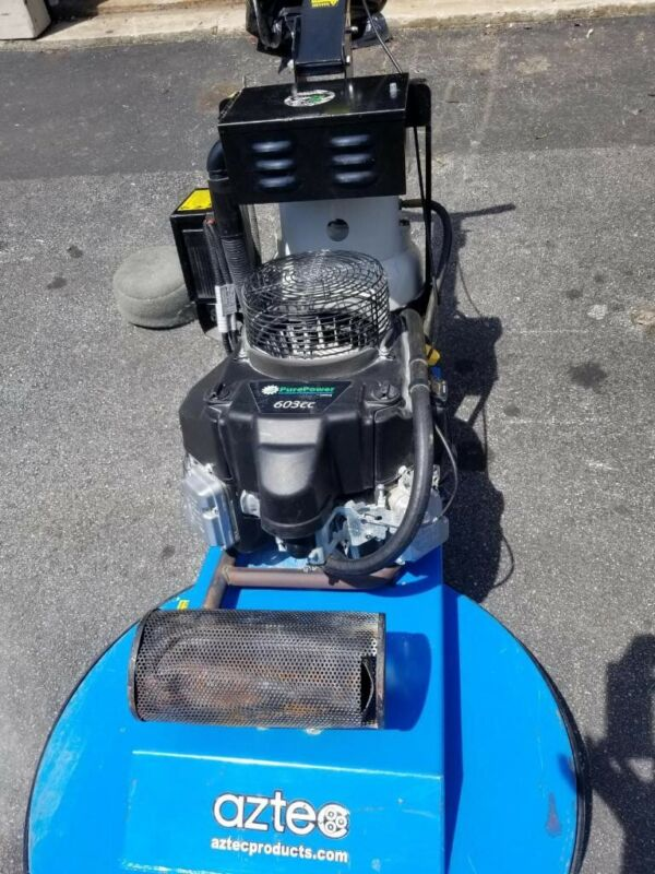 Used Aztec Low Rider 27inch Propane Floor Buffer With 25 Hours