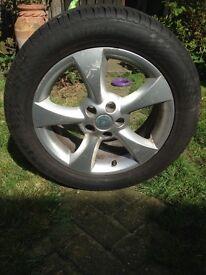 SType Jaguar Tyre and wheel.