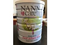 Nanny Care - Goat milk based - first infant