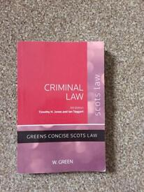 BIG SELECTION OF LAW TEXTBOOKS FOR SALE