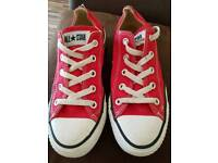 Converse lo red trainers size 4