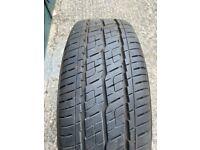 205 65 16C tyre on Wheel 9mm tread in West London area