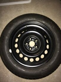 Goodyear Efficient grip tyre 205/60R16 92H and wheel. New