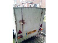 Box trailer for sale 4ft * 4ft *6ft
