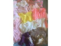 Baby girl clothes, summer bundle 3-6m