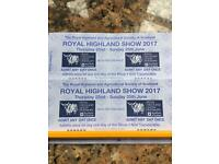 Highland Show tickets