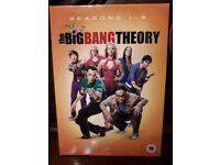 Big Bang Theory season 1-5 boxset