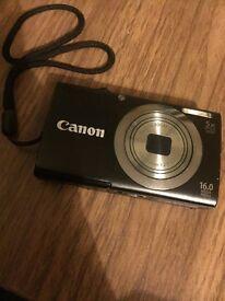 Canon supershot camera