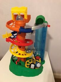 My First Thomas & Friends Rail Rollers Spiral Station & 2 balls