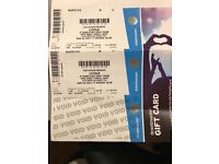 2 tickets to J Cole tonight in Leeds