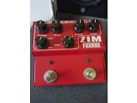 Zim Foxrox dual-drive pedal two independent true-bypass overdrive