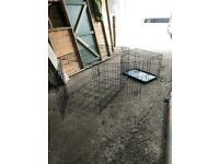dog cages 1 xl an 1 medium