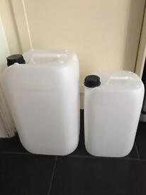 25L & 12.5L Brand New Containers