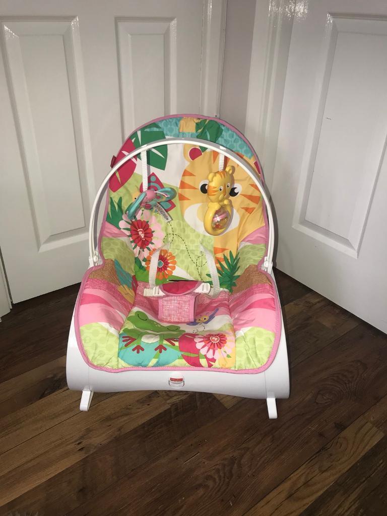 Fisher Price Infant To Toddler Rocker Pink In Bransholme East