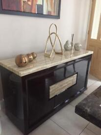 Marble bar / drinks cabinet / storage