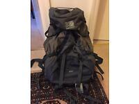 Karrimor wildcat trekking rucksack 60-65 ideal for travelling/back packing