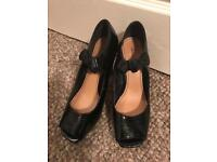 Marks & Spencer Limited Collection black shoes (size 6)
