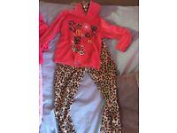 Winter pyjamas ,size 3-4 and 4-5