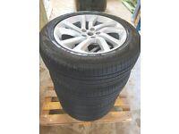 Set of 20'' wheels - 5 SPLIT-SPOKE 'STYLE 5011' RRP £6,360