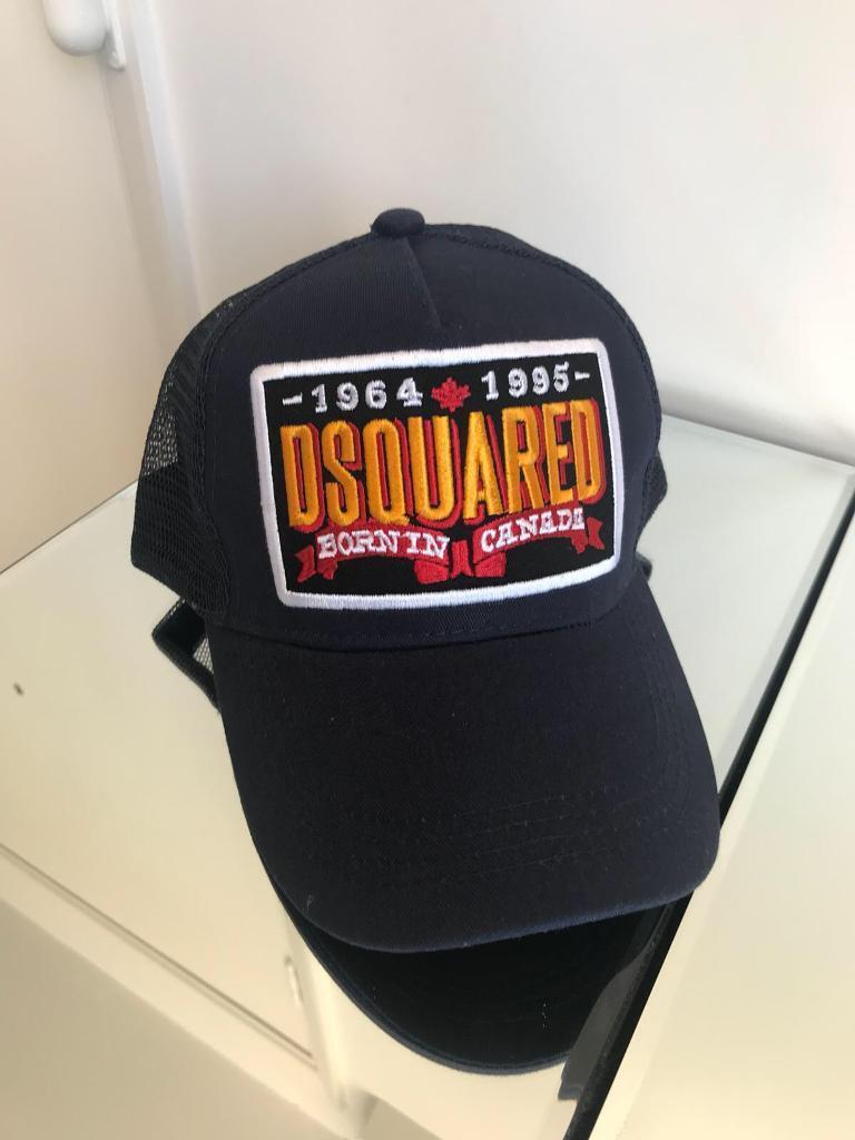 e34ad2647780e Dsquared DSQ Black Hat Cap
