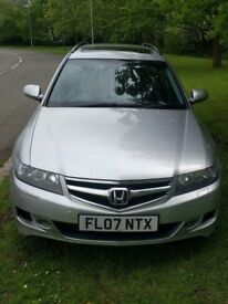 Honda Accord 2.2 1-CDTi EX estate executive 2007 157800 miles