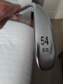 Ping Glide 54 degree wedge and Ping Glide 58 degree wedge