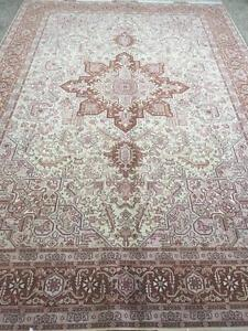 Persian Tabriz Rug (Brand New), Hand made, Silk and Wool (Free Shipping)