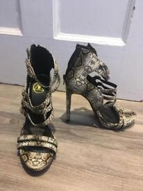 Misguided size 6 heels