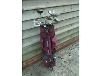Full set of Spalding Pulsar Golf Clubs