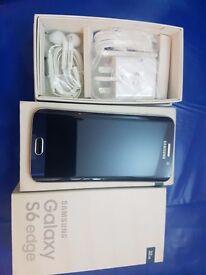 Samsung S6 edge black 32gb unlocked boxed mint condition1