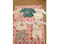 Baby girl clothes first size
