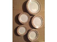 Royal Falcon ironstone, plates and bowls