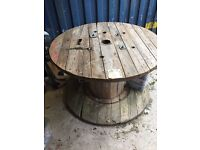 Garden Cable Drum Tables