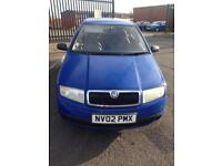 SKODA FABIA WITH ONLY 44000 miles