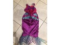 Girls mermaid dress(age 3 yrs)