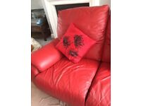 Reclining sofa 2 seater and 3 seater