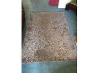 Luxury soft mink rug. Excellent condition