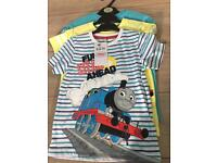 Thomas the tank tshirts 3 pack m and s brand new