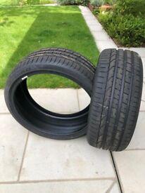 Pirelli P Zero tyres ( 2 in total )