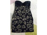 Black jewel dress