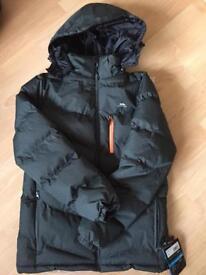 Brand new men's trespass coat