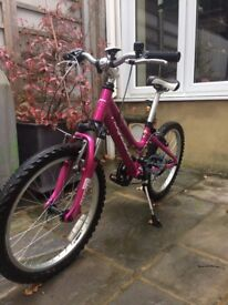 Girl's bicycle for age 7-9