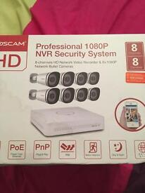FOSCAM Professional 1080P NVR Security System