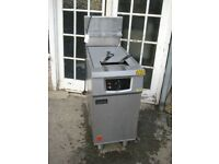Catering Falcon G401F/N Gas Fryer with electric filtration refurbished.