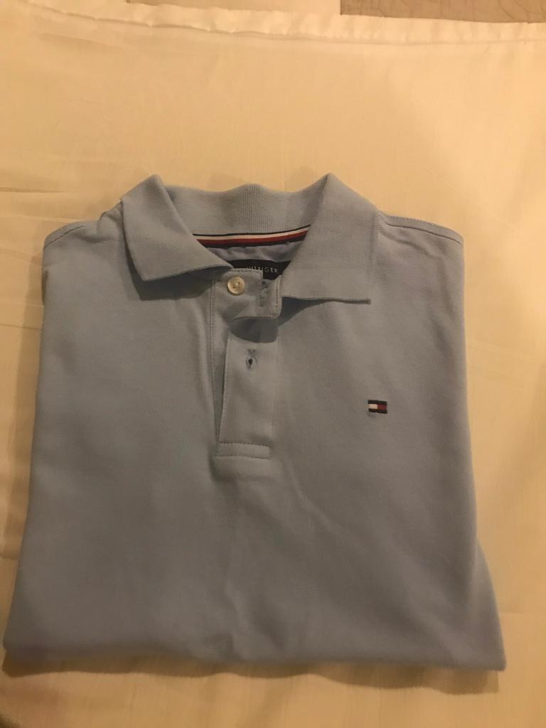 a94f06a54137 Tommy Hilfiger boys polo shirt slim fit 12 14