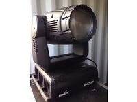 Martin Mac Professional moving heads for sale with touring cases and omega clamps - DJ/MOBILE/DICSO