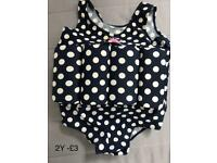 Girl - 2/3 y swim costum