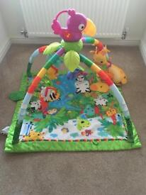 Fisher-price music and lights jungle gym
